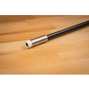 Stabilizer endcap 1/4 UNC thread rubbercap