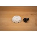 Stabilizer endcap 5/16 UNF  thread rubbercap